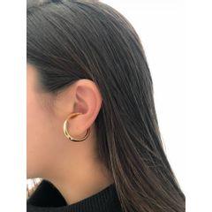 68951---Brinco-Ear-hook-Tubo-Quadrado-Banhado-a-Ouro-18k--1ª-