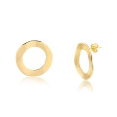 Brinco-de-Argola-Frontal-Circular-Banhando-a-Ouro