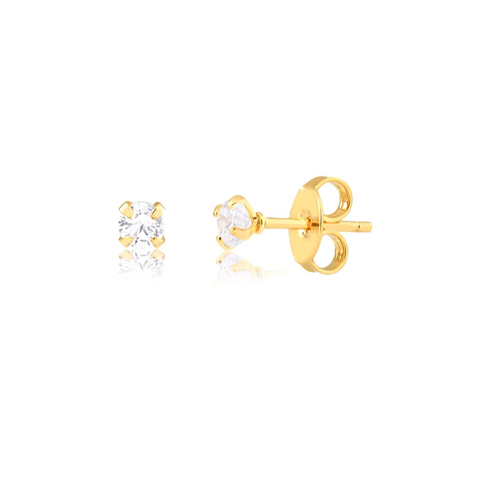Kit-com-3-brincos-com-de-zirconias-com-tamanhos-variados-banhado-a-ouro--3º-furo-