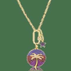 Colar-com-medalha-colorida-coqueiro