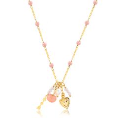 Colar-Pedra-Natural-Rosa