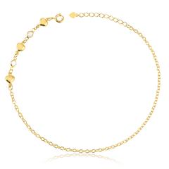 Pulseira-dourada-com-detalhes-de-coracao-e-zirconia-banhado-a-ouro-18k