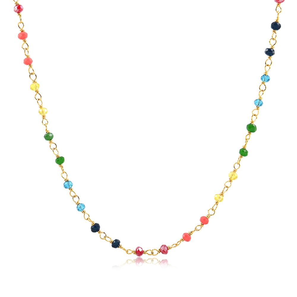 Colar-folheado-com-cristais-coloridos