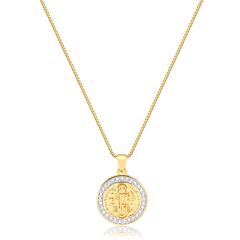 Colar-com-medalha-de-sao-bento-cravejado-banhado-a-ouro-18k