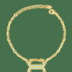 Pulseira-com-elos-cartier-e-pingente-locker-esmaltado-banhado-a-ouro-18k-Azul
