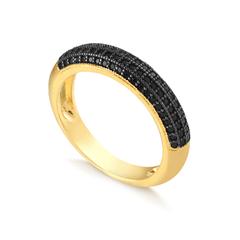 Anel-Banhado-a-Ouro-18k-com-Cravejado-de-Zirconias-Negras