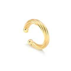 Piercing-de-pressao-dourado-com-design-torcido-banhado-a-ouro-18k