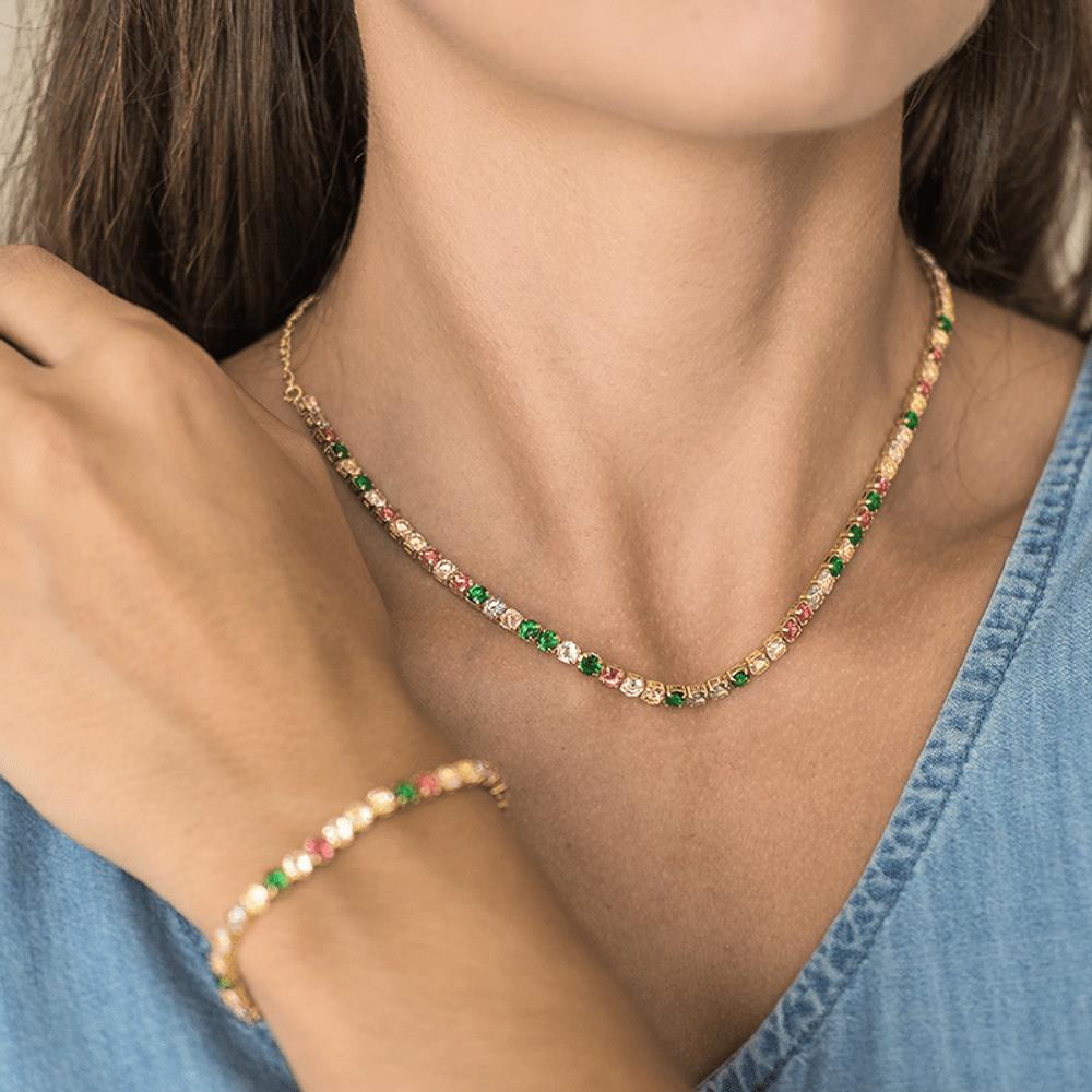 Choker-riviera-com-zirconias-coloridas-banhada-a-ouro-18k