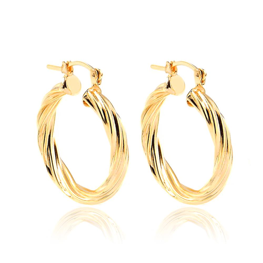 Argola-torcida-dourada-folheada-em-ouro-18k