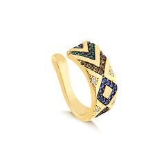 Piercing-fake-dourado-com-zirconias-coloridas-banhado-a-ouro-18k