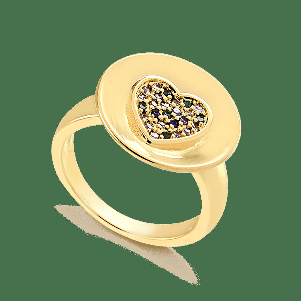Anel-de-dedinho-com-coracao-cravejado-de-zirconias-colorida