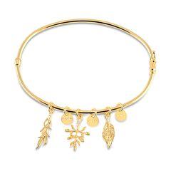 Bracelete-dourado-com-pingentes-banhado-a-ouro-18k